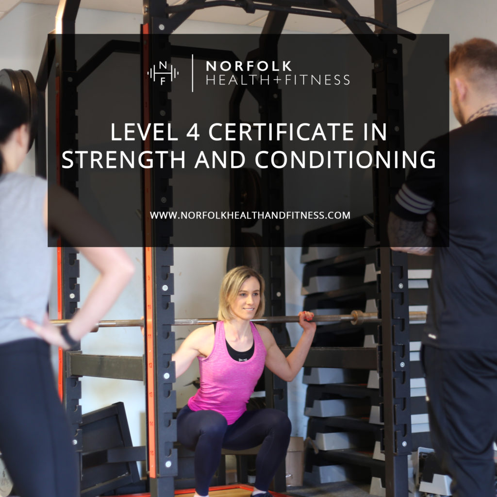 Level 4 Certificate in Strength and Conditioning